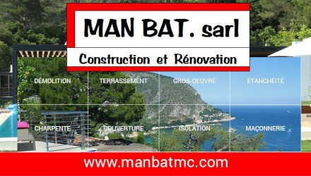 Man Bat Monaco dévoile son nouveau site internet construit par WebSamba MC
